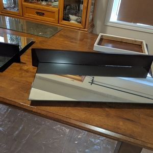 Other - 2 Floating Wall Mirrors Excellent Condition